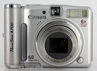 Canon Powershot A700