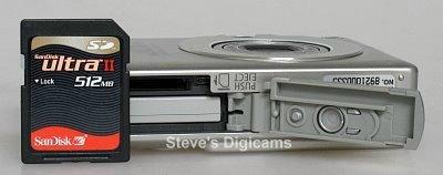 Canon PowerShot  SD300 Digital ELPH