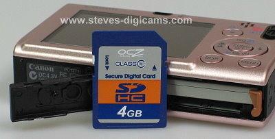 Canon Powershot SD1100 IS Digital ELPH