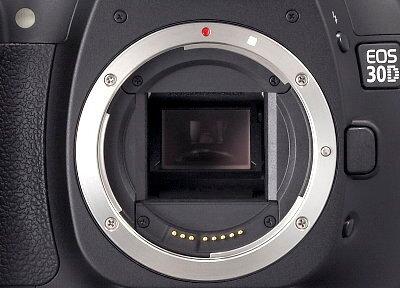 Canon EOS 30D SLR.