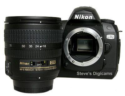 Nikon D70 SLR