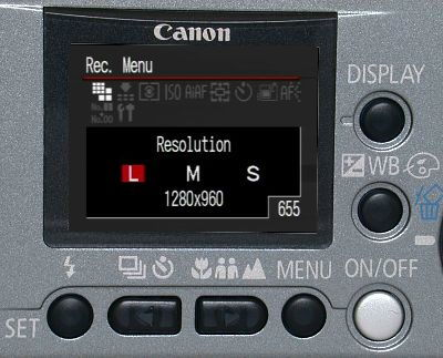 Canon PowerShot A30 Zoom