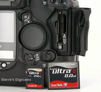 Canon EOS-1D Mark II N Pro SLR.