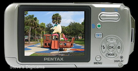 Pentax Optio W10