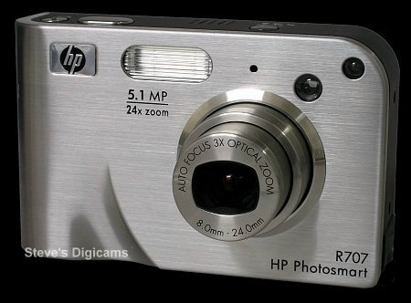Click to take 360-degree QTVR tour of the HP PhotoSmart R707