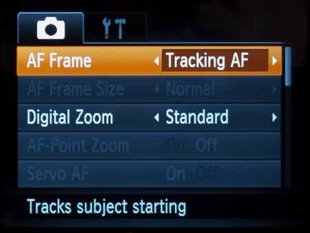 Canon Powershot SX530HS-record-menu-AF.jpg