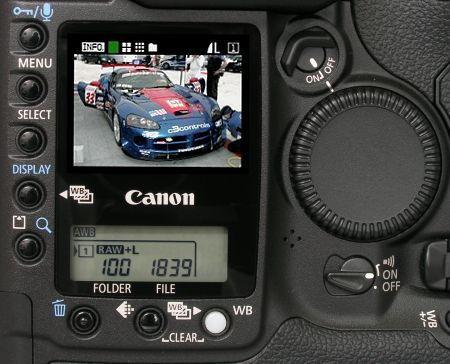Canon EOS-1D Mark II Pro SLR. Photos are (c) 2001 Steve's Digicams