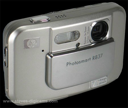 Click to take 360-degree QTVR tour of the HP PhotoSmart R837