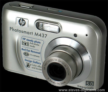 Click to take 360-degree QTVR tour of the HP PhotoSmart M437