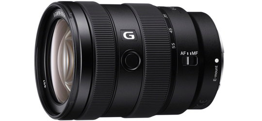 Sony 16-55mm G Series E Mount Lens
