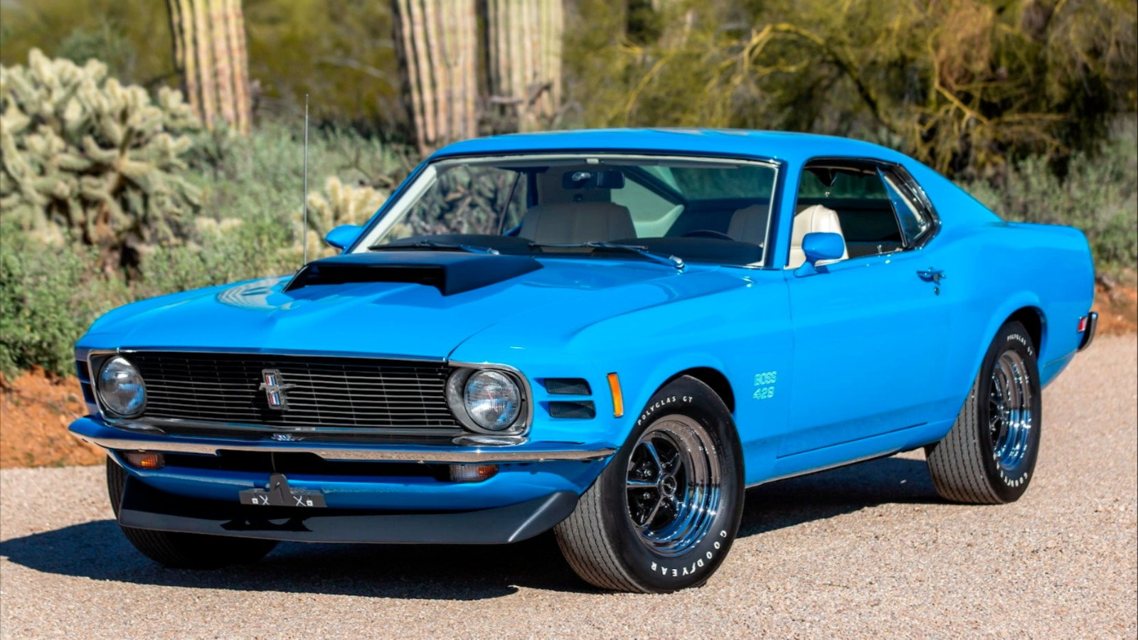 mustang 1970 boss fastback 429 ford themustangsource 421chevaux
