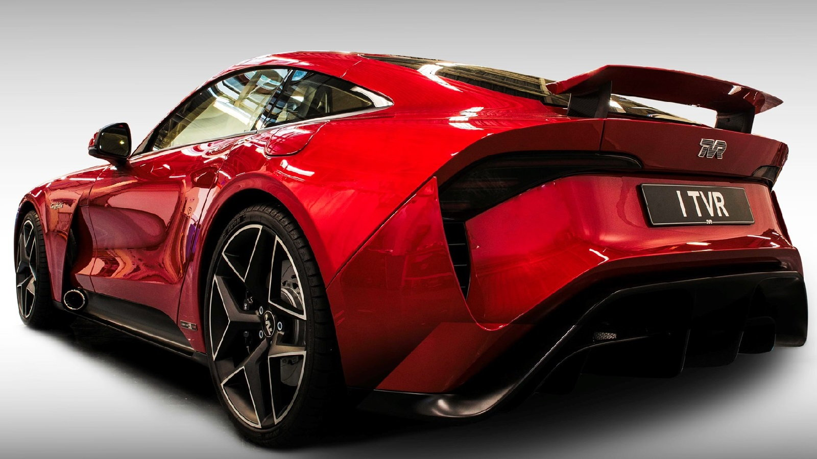 TVR Griffith With 5.0-Liter Coyote Engine