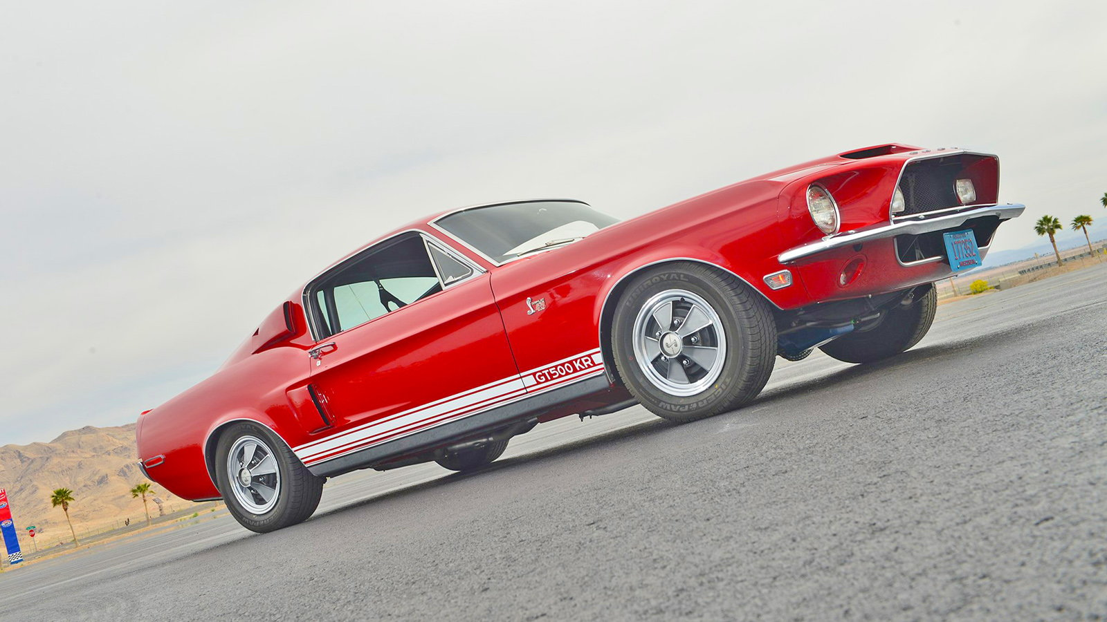 Classic 1968 Shelby GT500KR Lives Life Rough