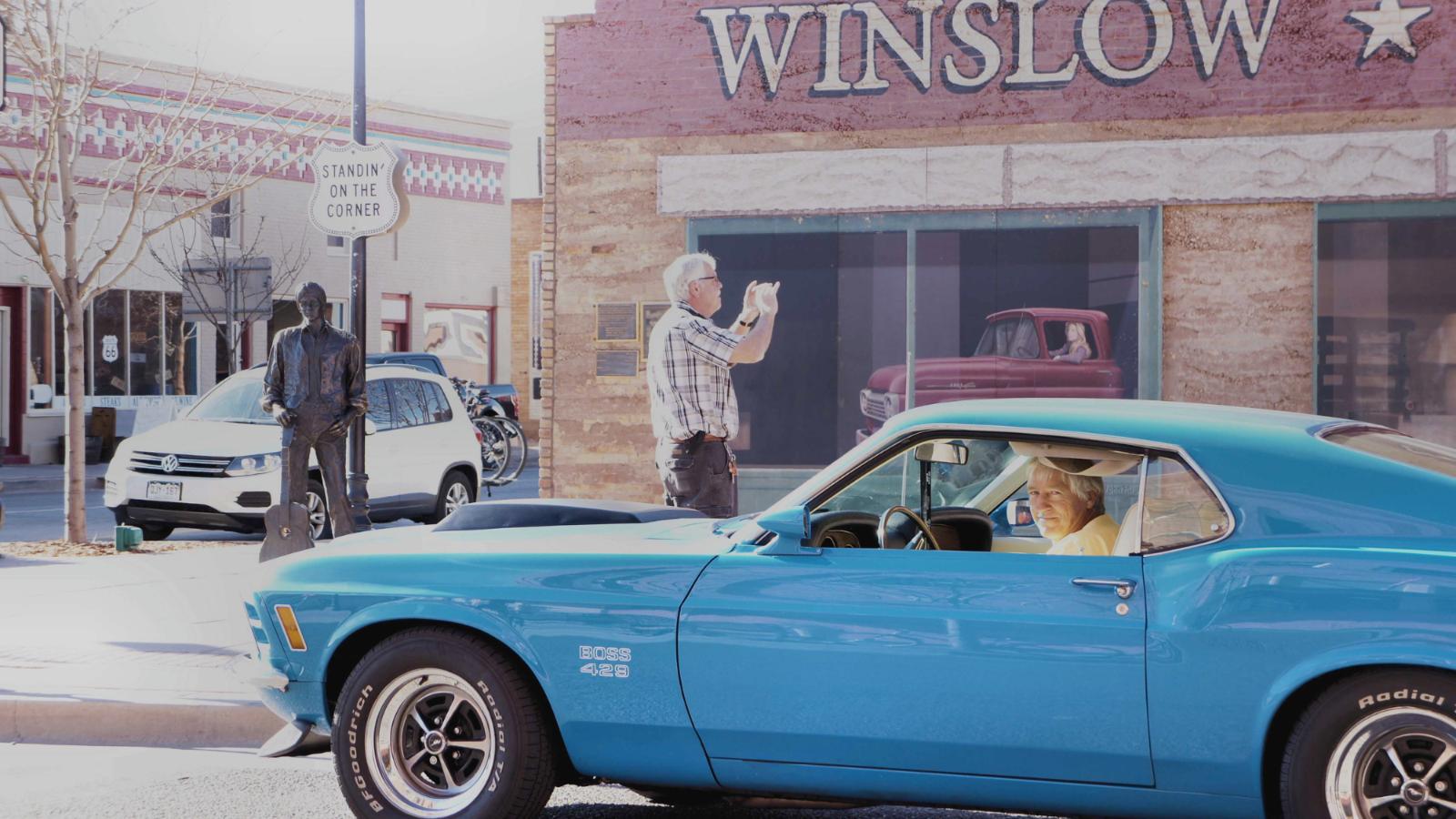1970 Boss 429 Loves Road Trips