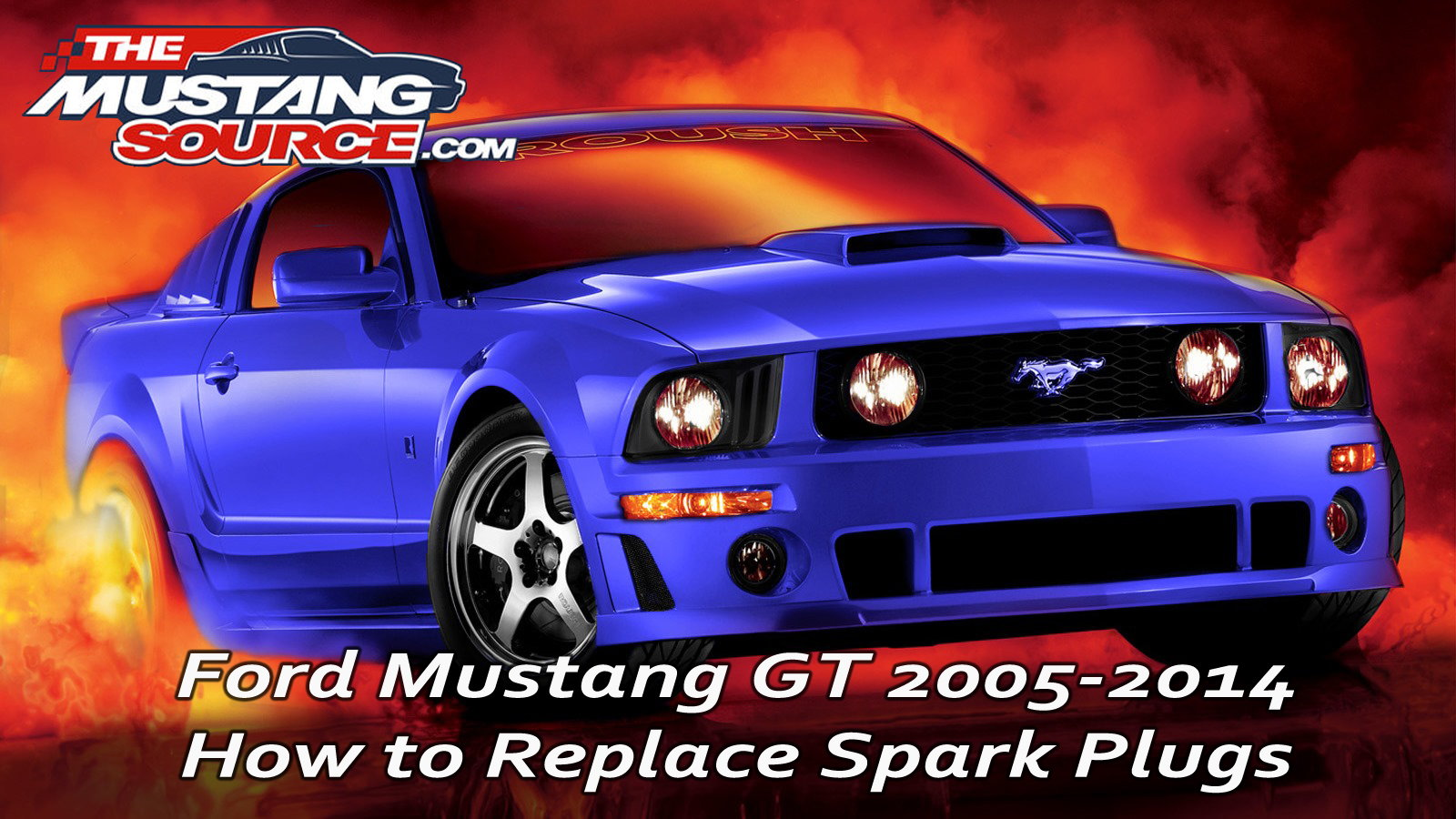 How to Replace Spark Plugs in your Ford Mustang GT