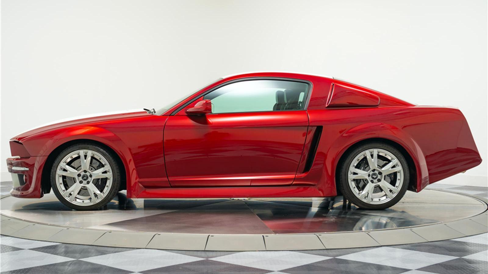 2007 Mustang Gets Lamborghini Gallardo Fusion