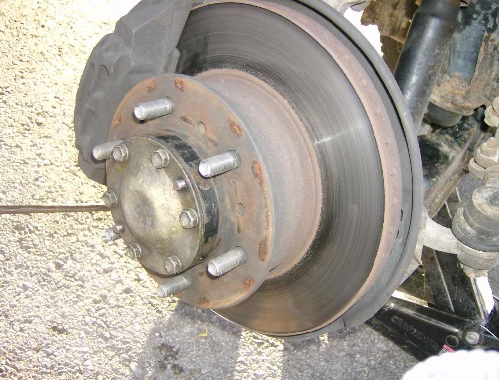 warped rotors