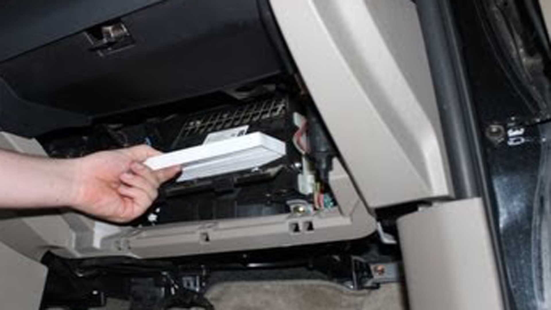 Toyota Tacoma How To Change Cabin Air Filter Yotatech