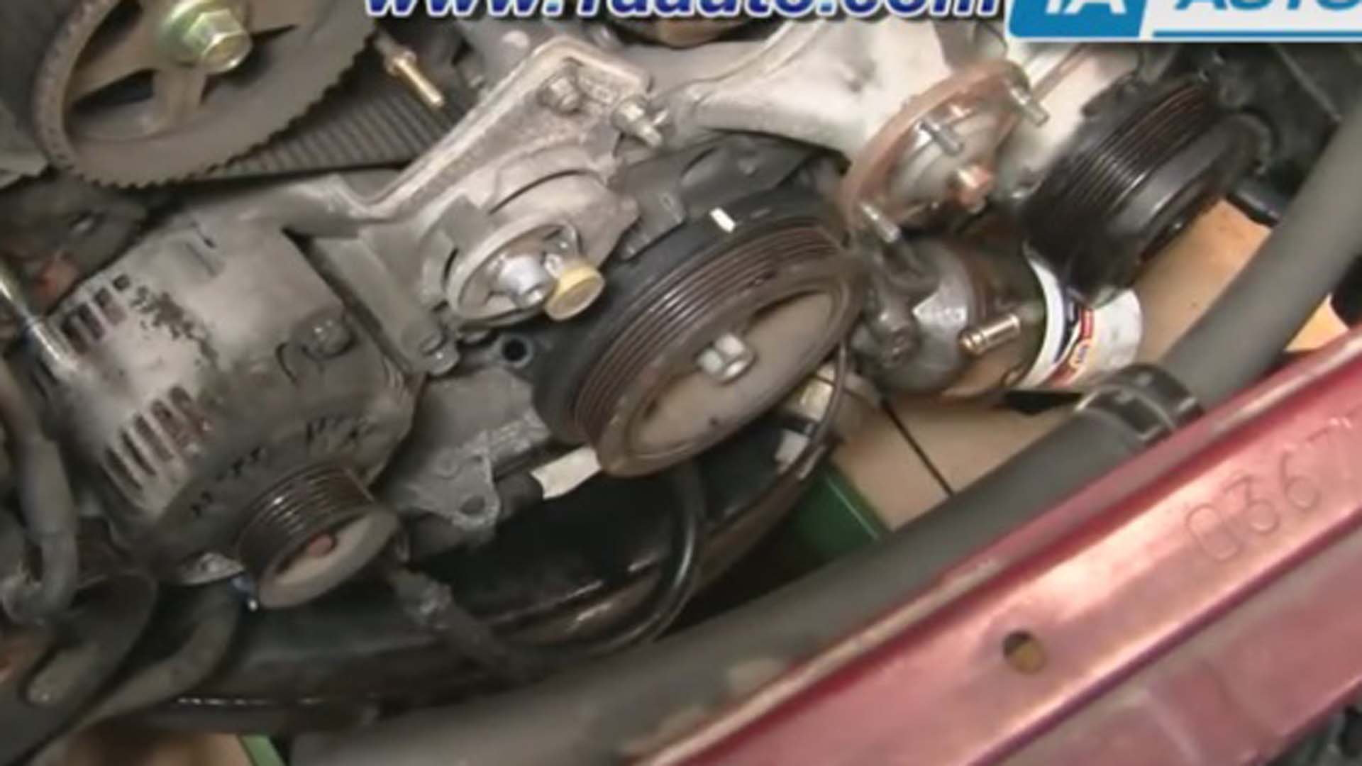 Toyota Tundra How To Replace Timing Belt And Water Pump Yotatech