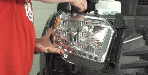 toyota tundra headlight install