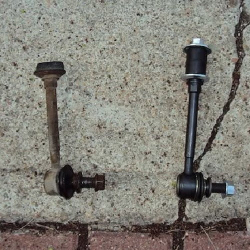 toyota 4runner sway bar end link DIY how to replacement