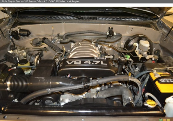 4.7L V8 2UZ-FE Engine towing
