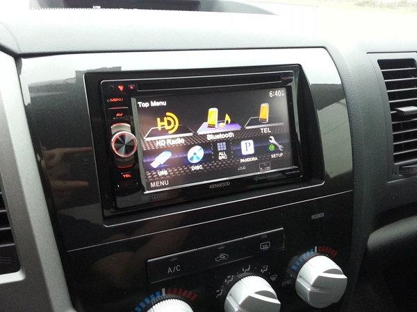Aftermarket sound system, radio