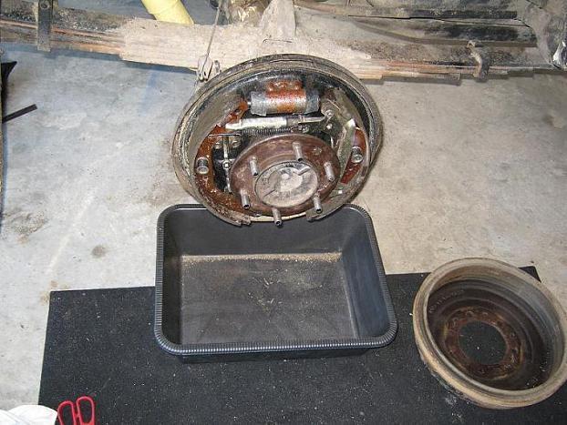 Rear axle seal leak