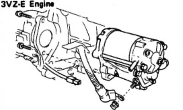 This picture from the manual makes finding the bolts easier