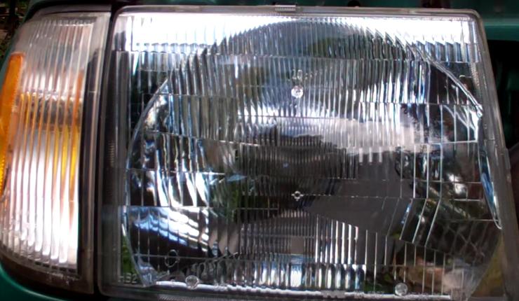 installing new headlight