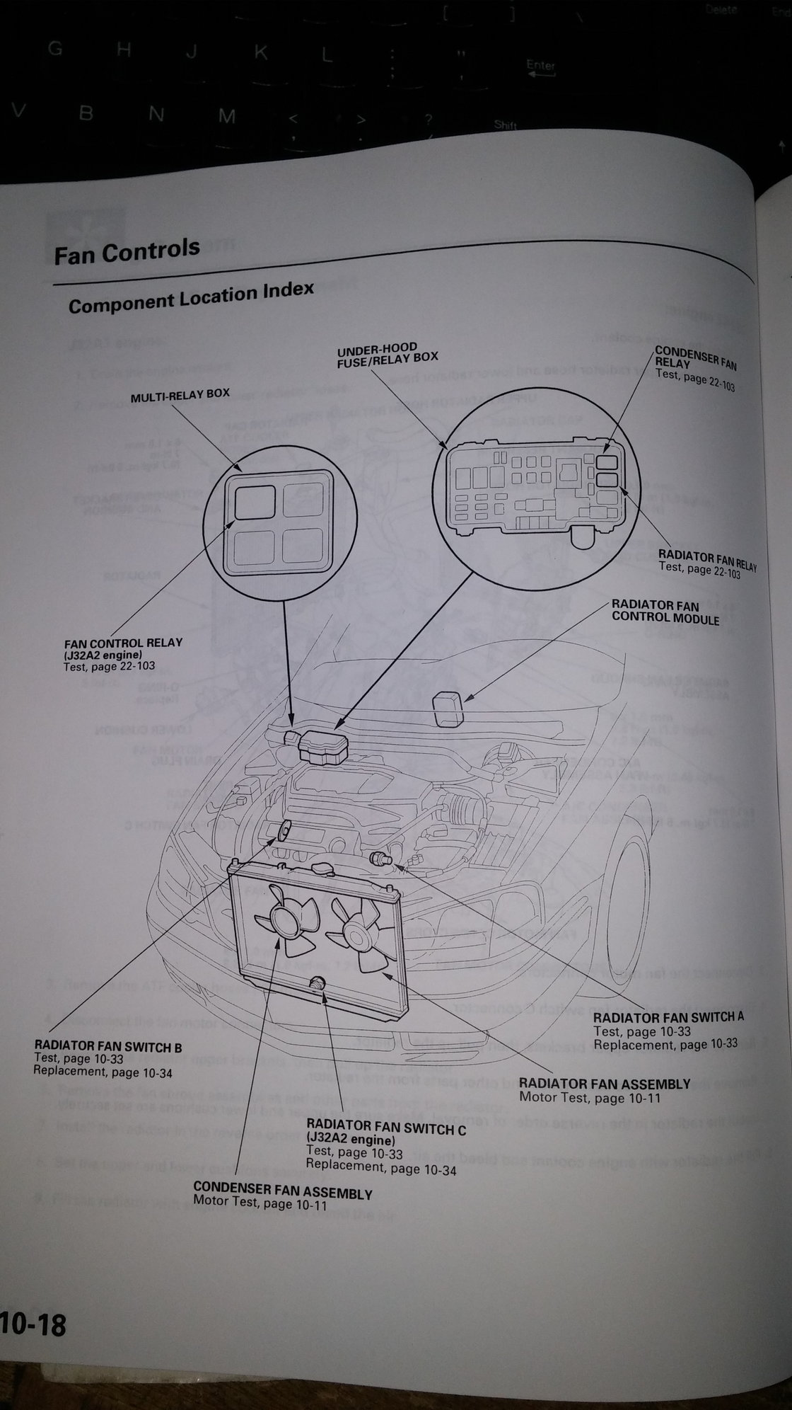 Cooling Fan Control Module Acurazine Acura Enthusiast Community 98 3 2tl Engine Diagram Now On To The Question At Hand Answer Seems Be That Radiator Is In Center Of Dashboard Above Radio