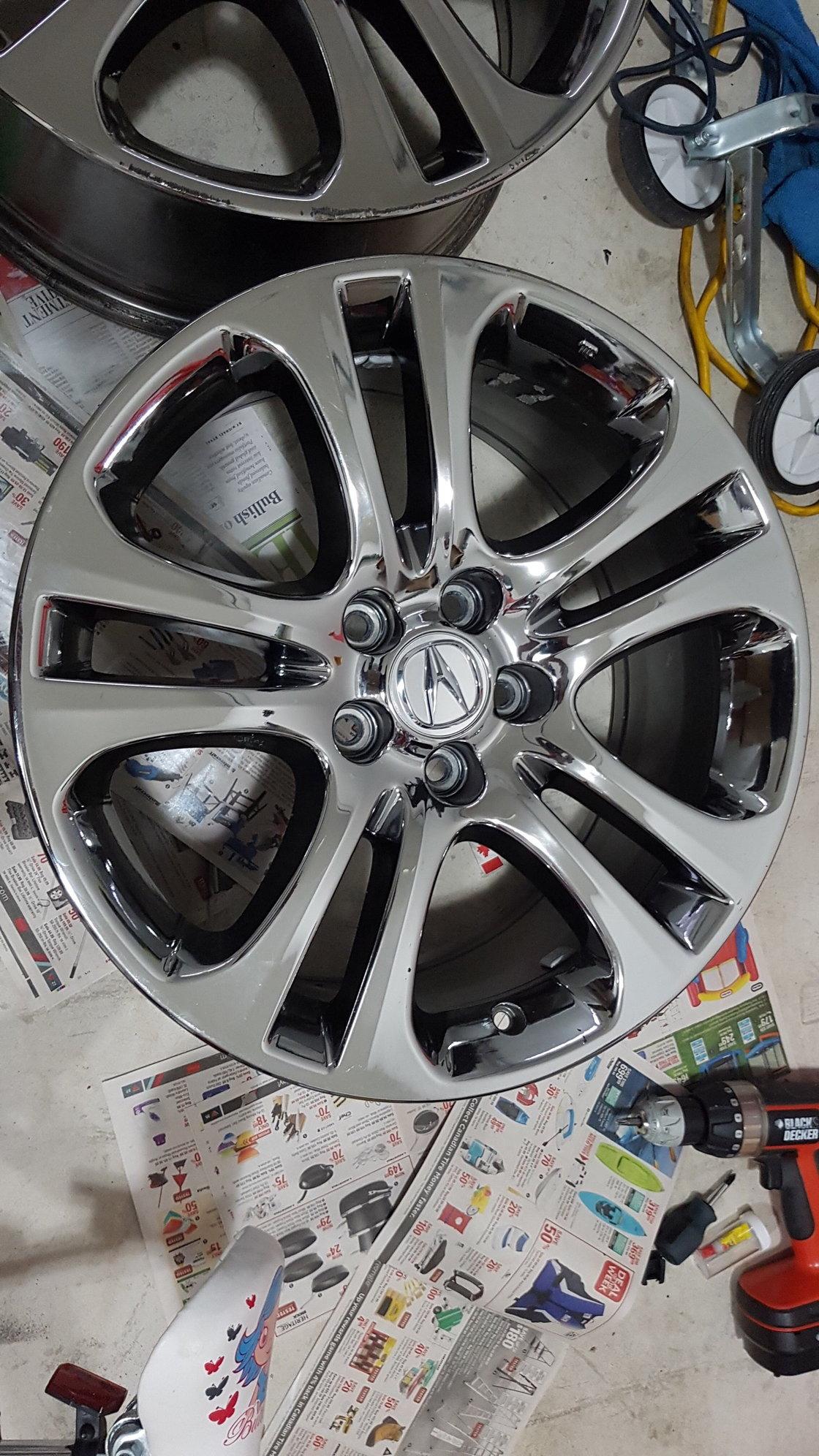 acura wheels 5x120 oem fs acurazine honda expired odyssey rl tl
