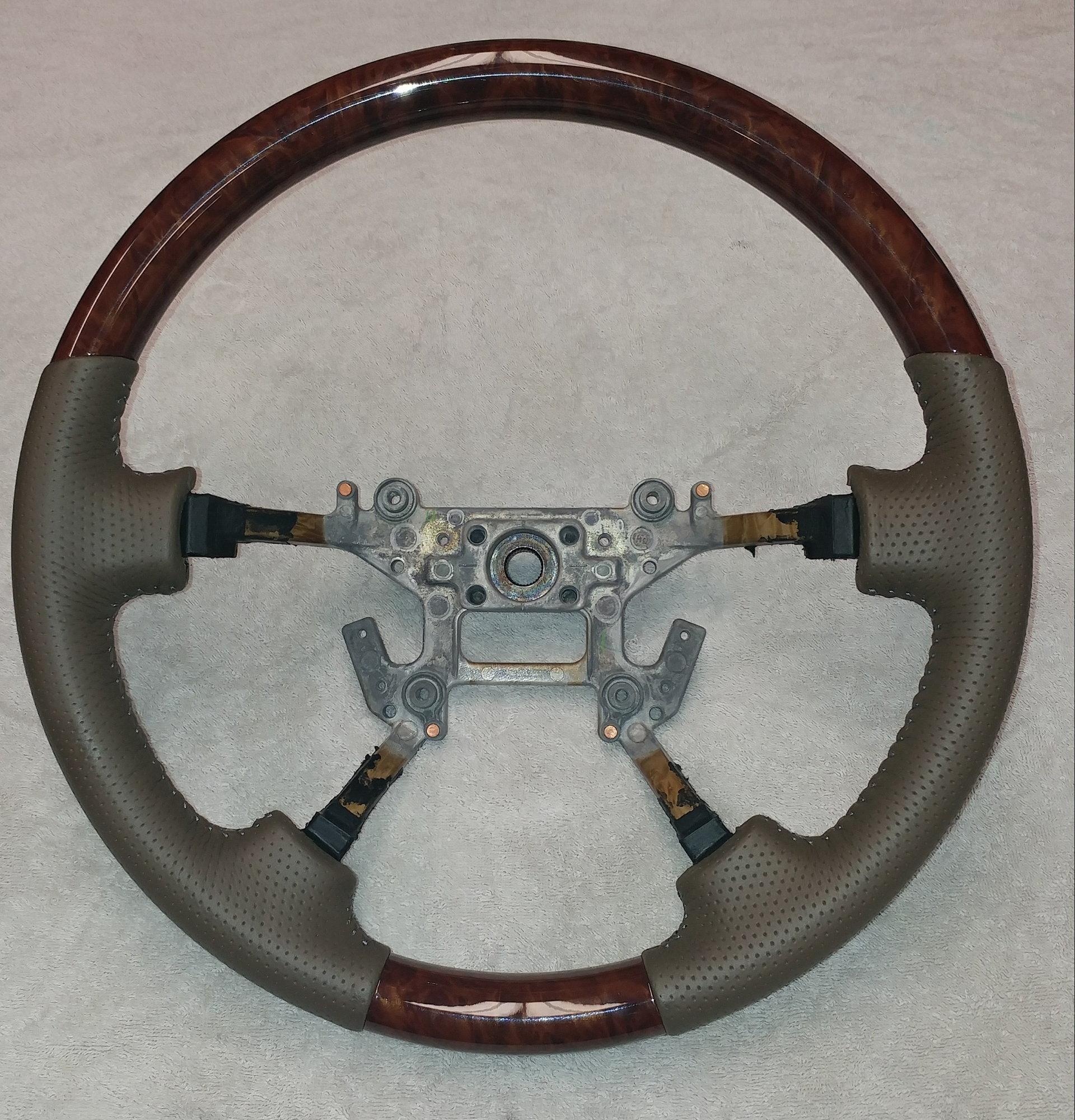 Steering Wheel Leather Restoration