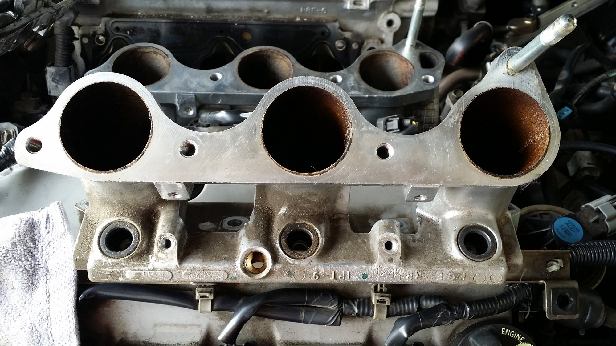 Knock sensor and lower intake manifold removal - AcuraZine