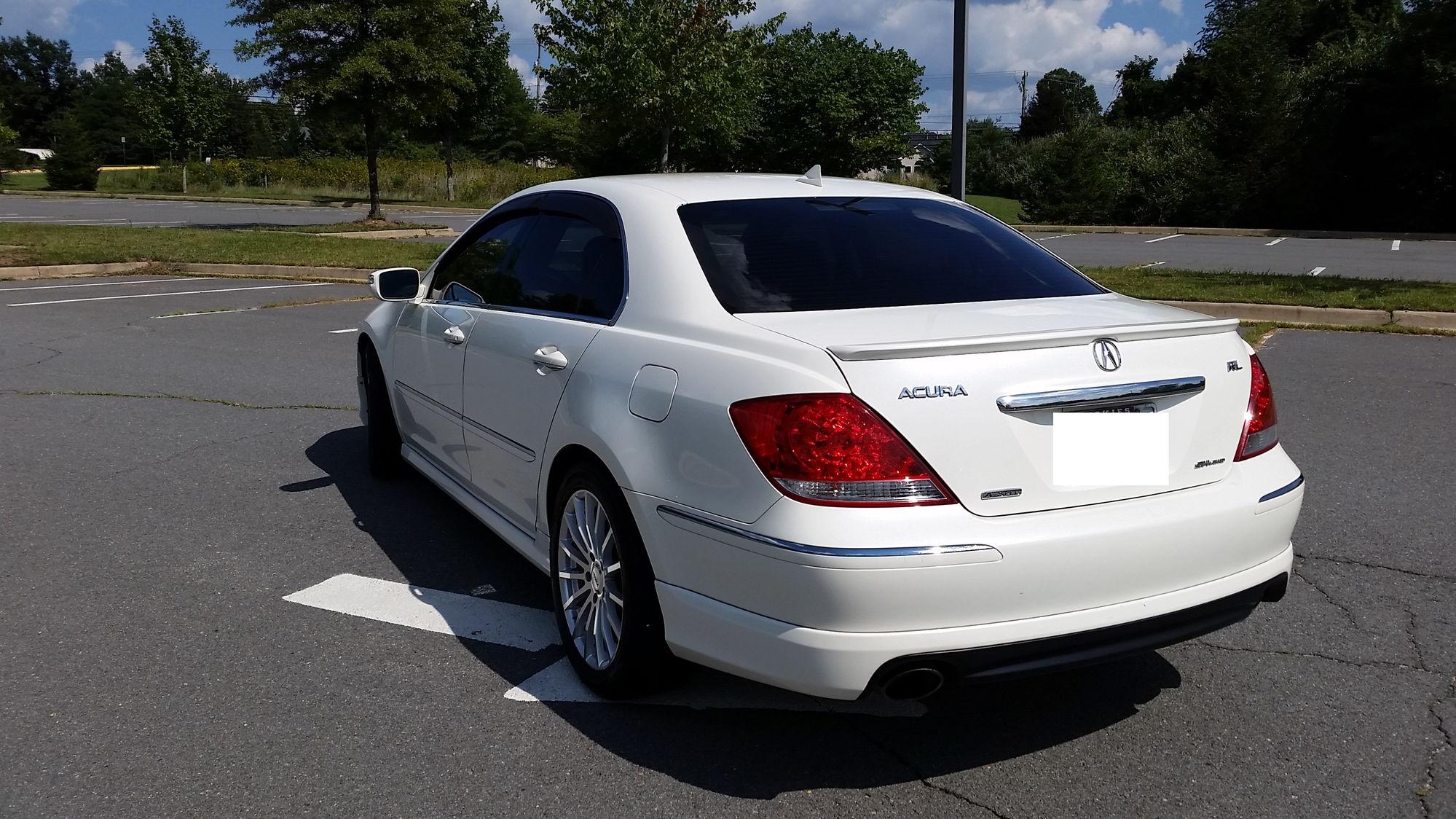 Sold 2006 Acura Rl A Spec Location Northern Va