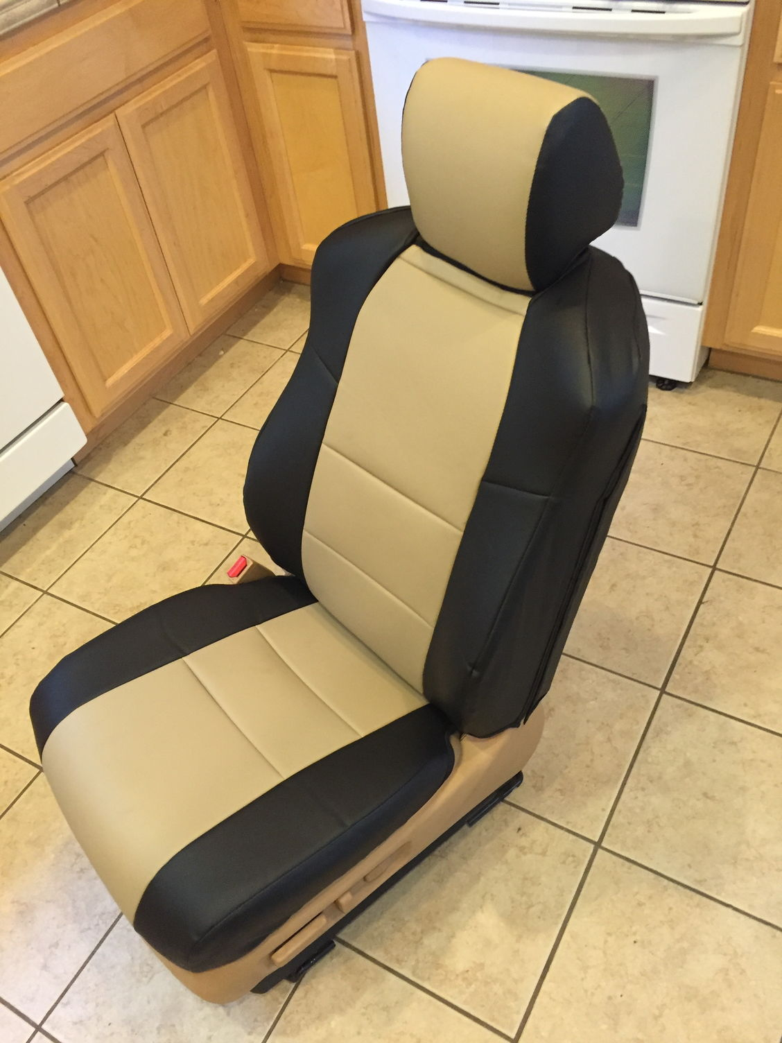Igee Seat Covers Installed
