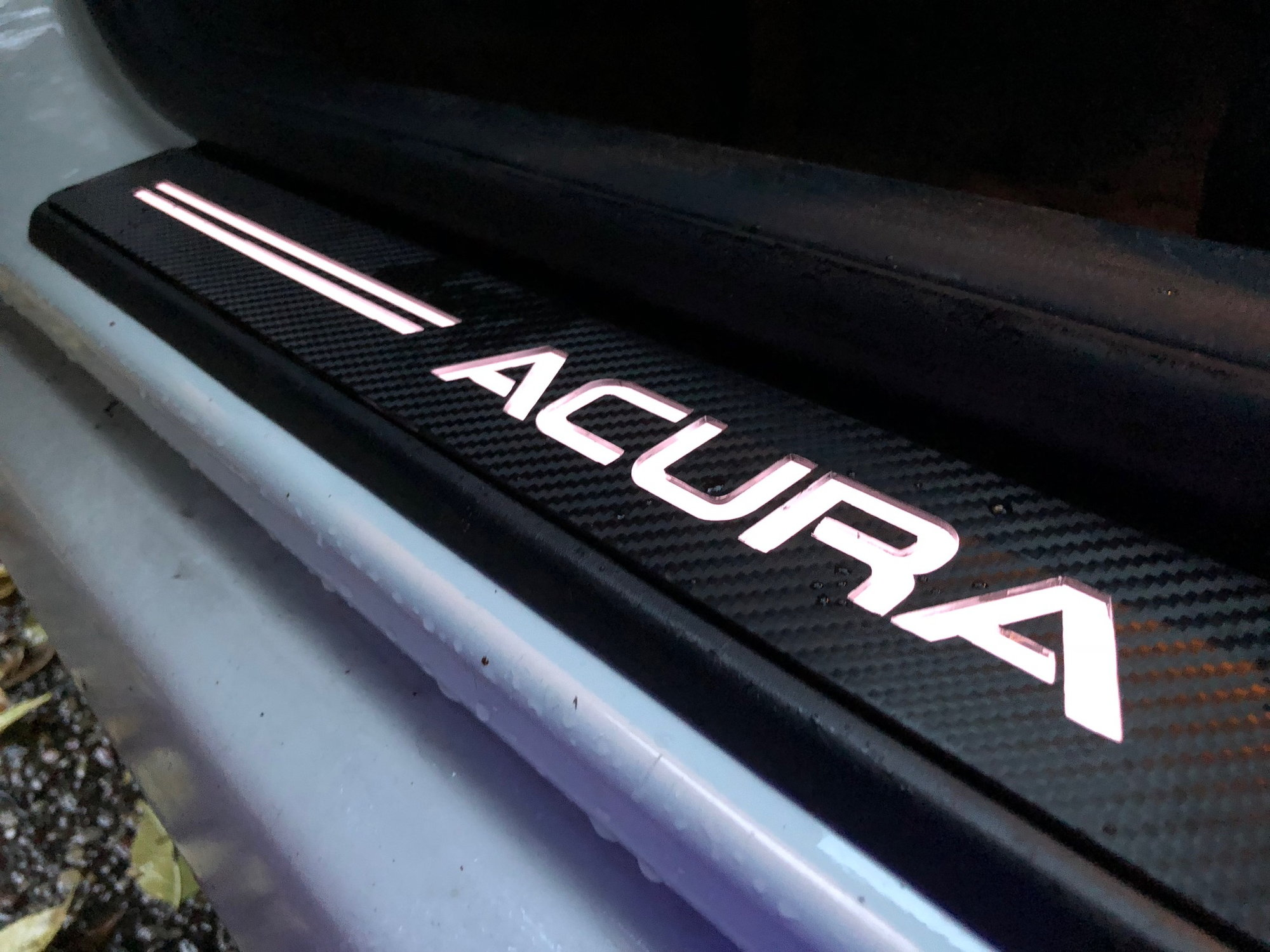 Diy Illuminated Door Sills Acurazine Acura Enthusiast Community Blue Box Wiring Honda Forum And Car Forums Overall Sorta A Lengthy Process But Very Satisfied With Results