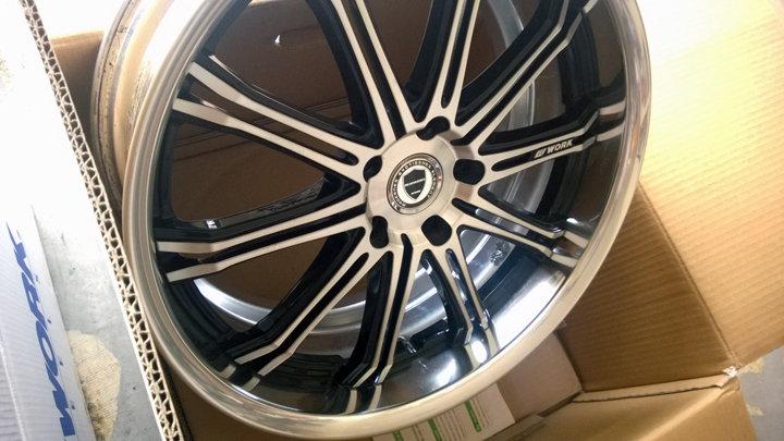 SOLD Work Wheels Schwert SC1 20x8.5 / 20x9.5 5X120 ...