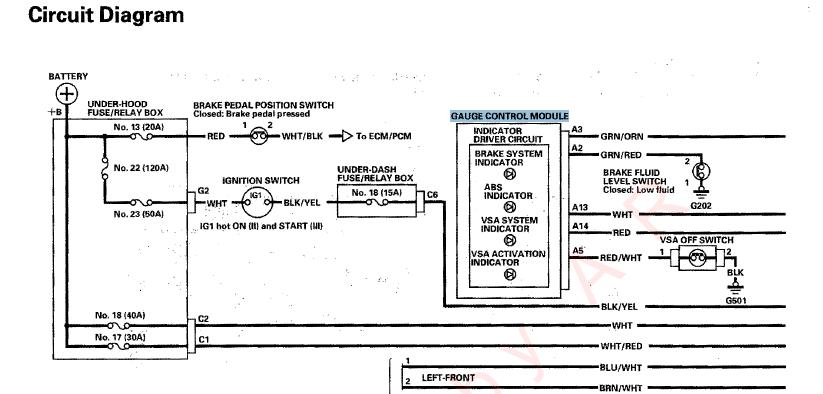 84 1 Sensor Logic Failure Acurazine Acura Enthusiast