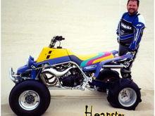 404cc Big Bore Banshee has shown 60 rear wheel horsepower on a dyno.Like Riding White Lightning!