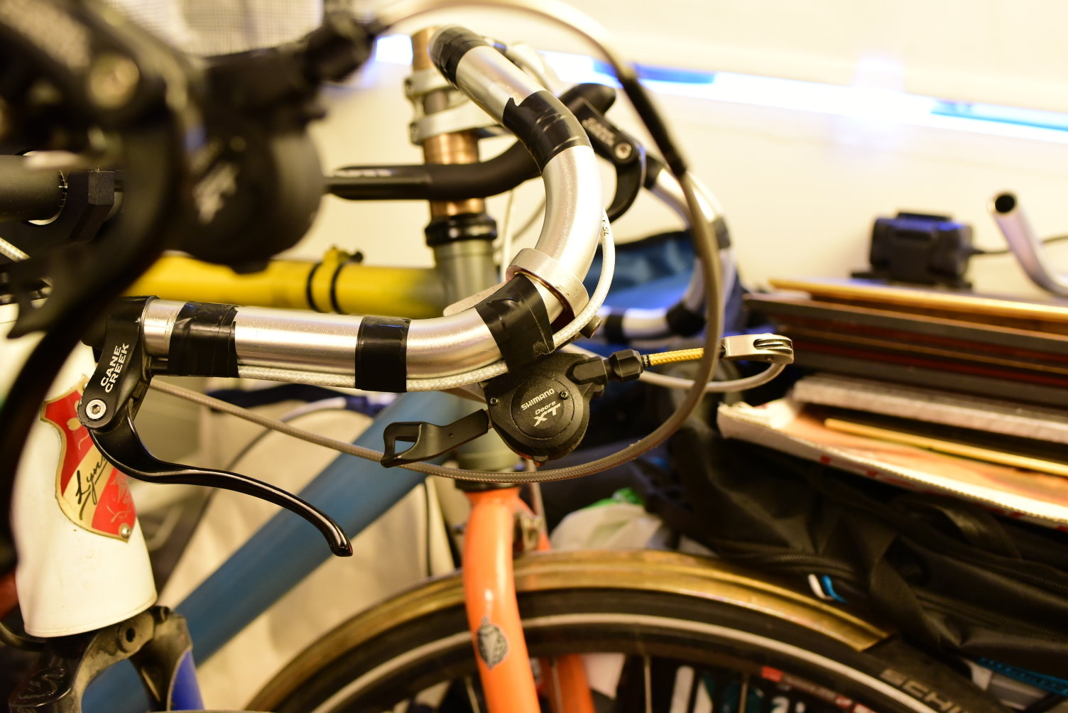 Bullhorn/shifters/brake levers - Bike Forums
