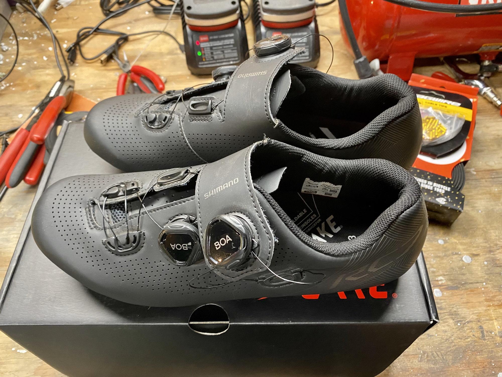FS: Size 43 Shimano RC7 shoes - Bike Forums