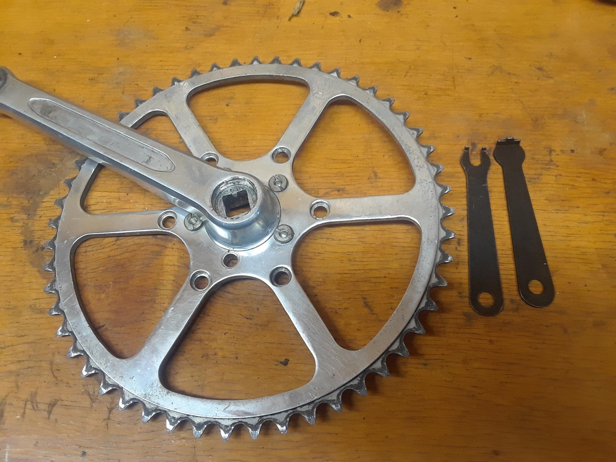 Vintage TA 5 Pin Crankarms Cyclotourist