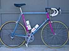 1987 IME Pinarello Treviso Team Bike - Dura-Ace/Ultegra with Umma Gumma grey clincher tires.