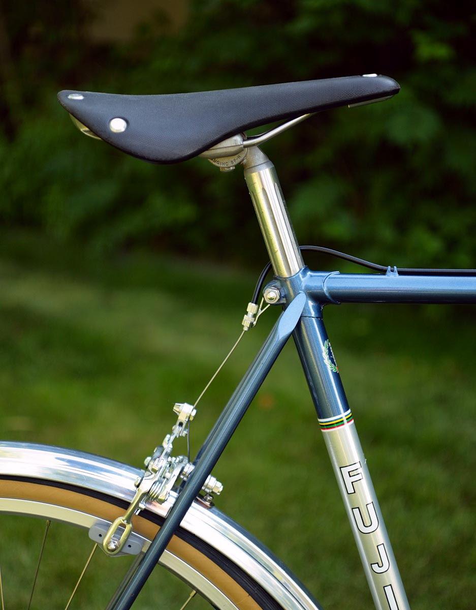 Fuji S12-S 650b conversion finished done   I think    - Bike