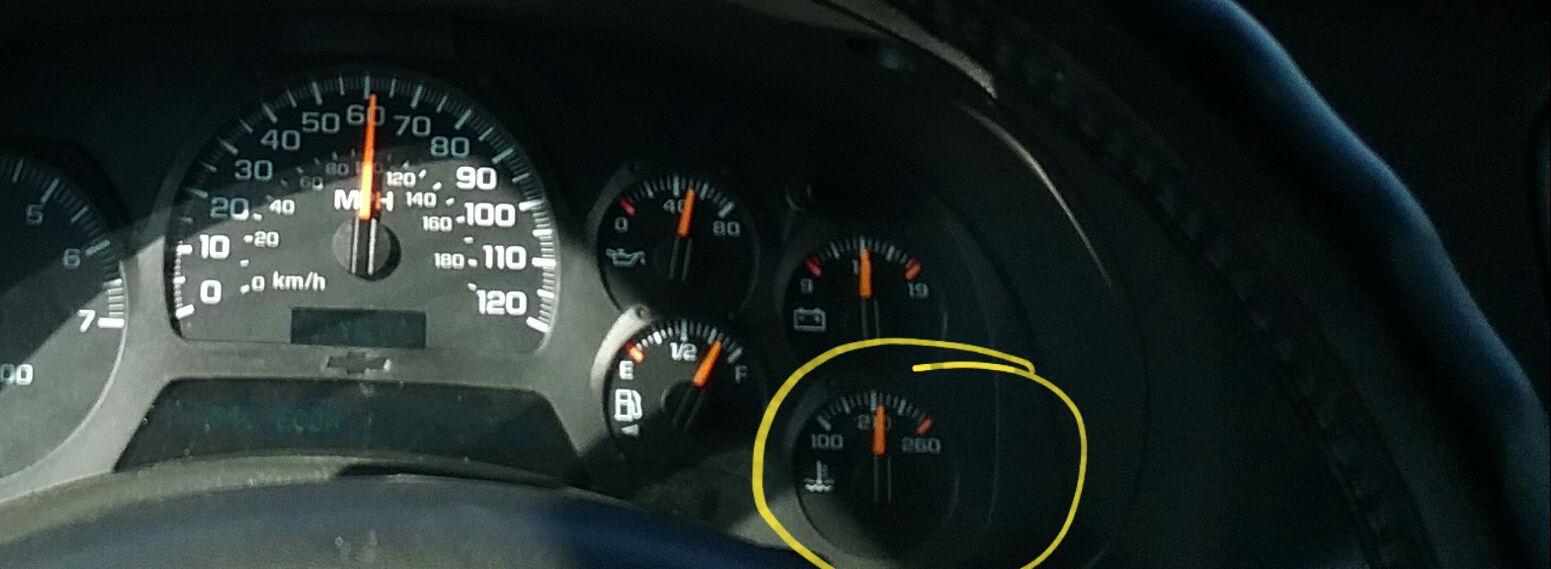 """normal"" running temperature - Chevrolet Forum - Chevy ..."
