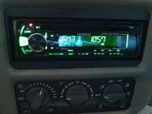 Kenwood w alpine speakers and a Pyle Chopper Series amp