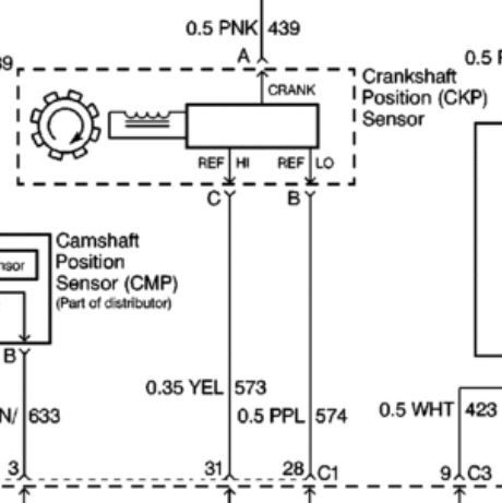 Wiring Diagram For Camshaft Position Sensor - Diagrams Catalogue