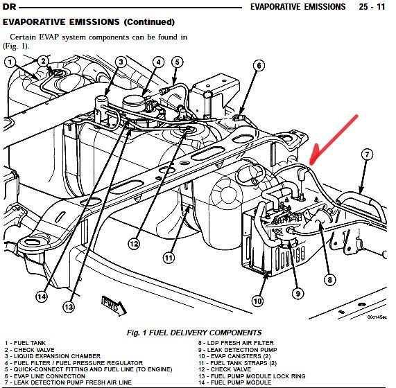 2004 silverado fuel line diagram