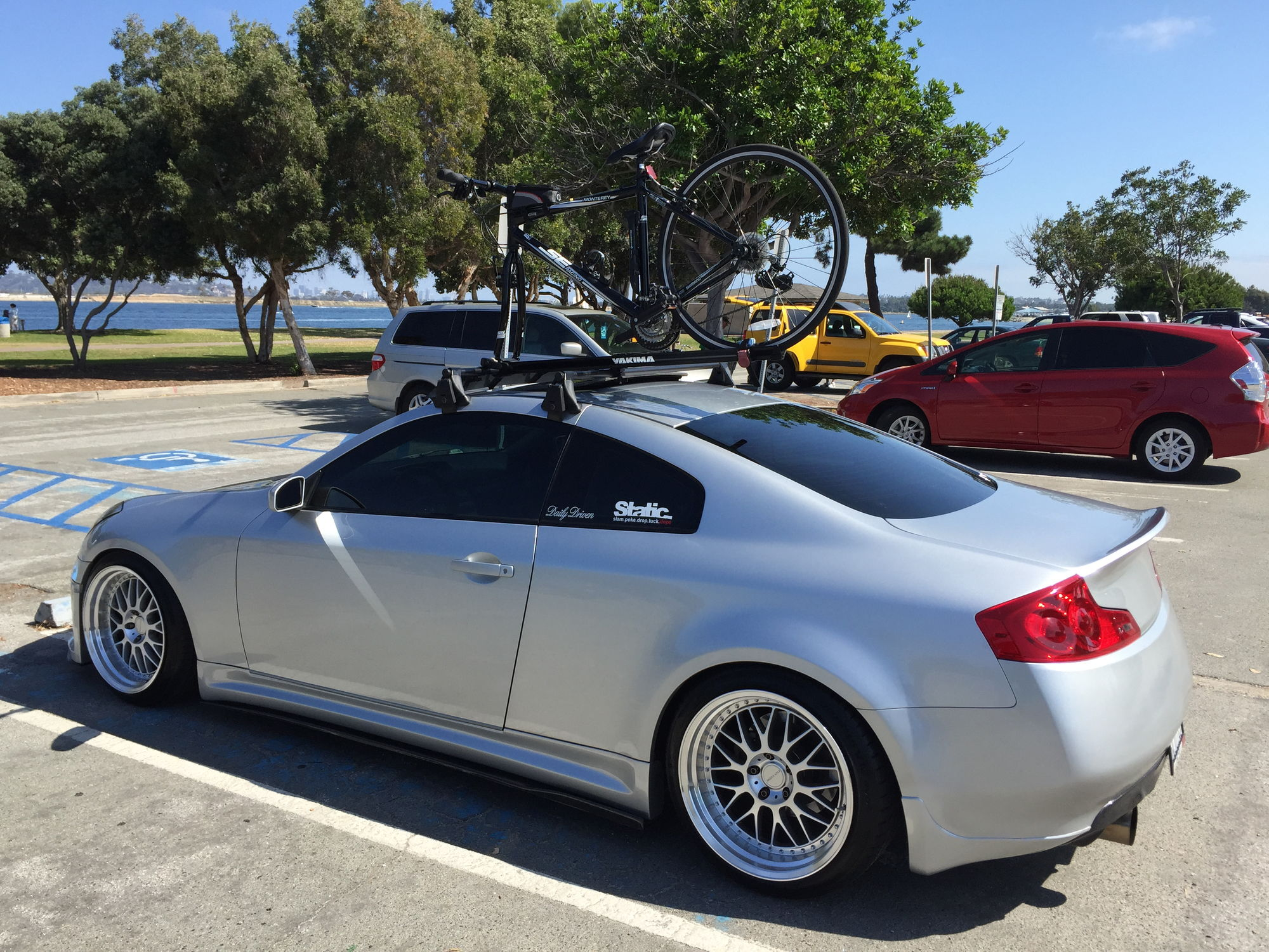 New Infiniti G35 Coupe >> FS: Coupe Yakima roof rack - G35Driver - Infiniti G35 & G37 Forum Discussion
